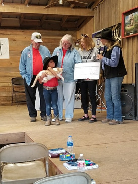 Sponsor a Cowboy Kid:  First Baptist Blairsville