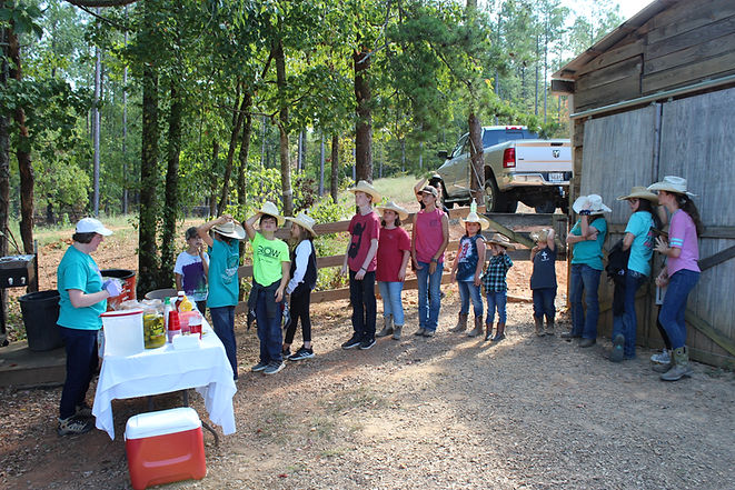 cowboy kids event at the ranch