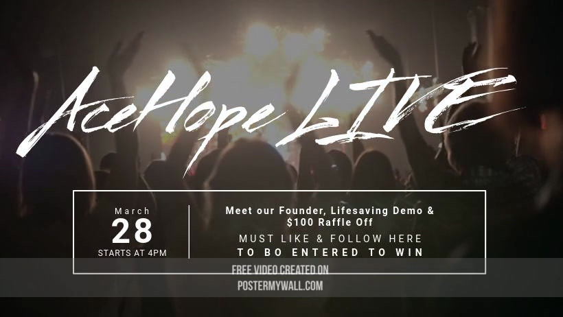 AceHope FB LIVE Event