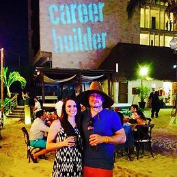 CareerBuilder Diamond Trip Winner in Mexico 2015