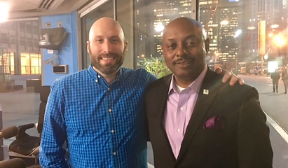 Justin Kaufmann and CEO Eugene Jones Jr.