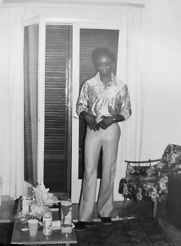 Eugene Jones Jr. in Athens, Greece 1976