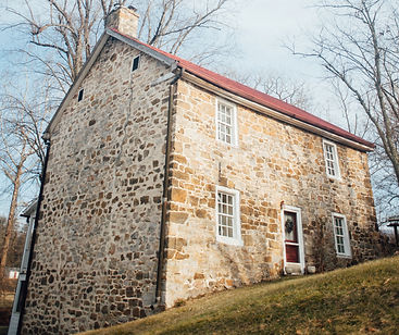 Old Stone House George Washington slept in - Wardensville, West Virginia