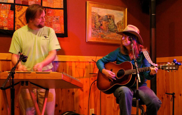 Jan and Neil, hosting open mic night at Lost River Bar and Grill, WV