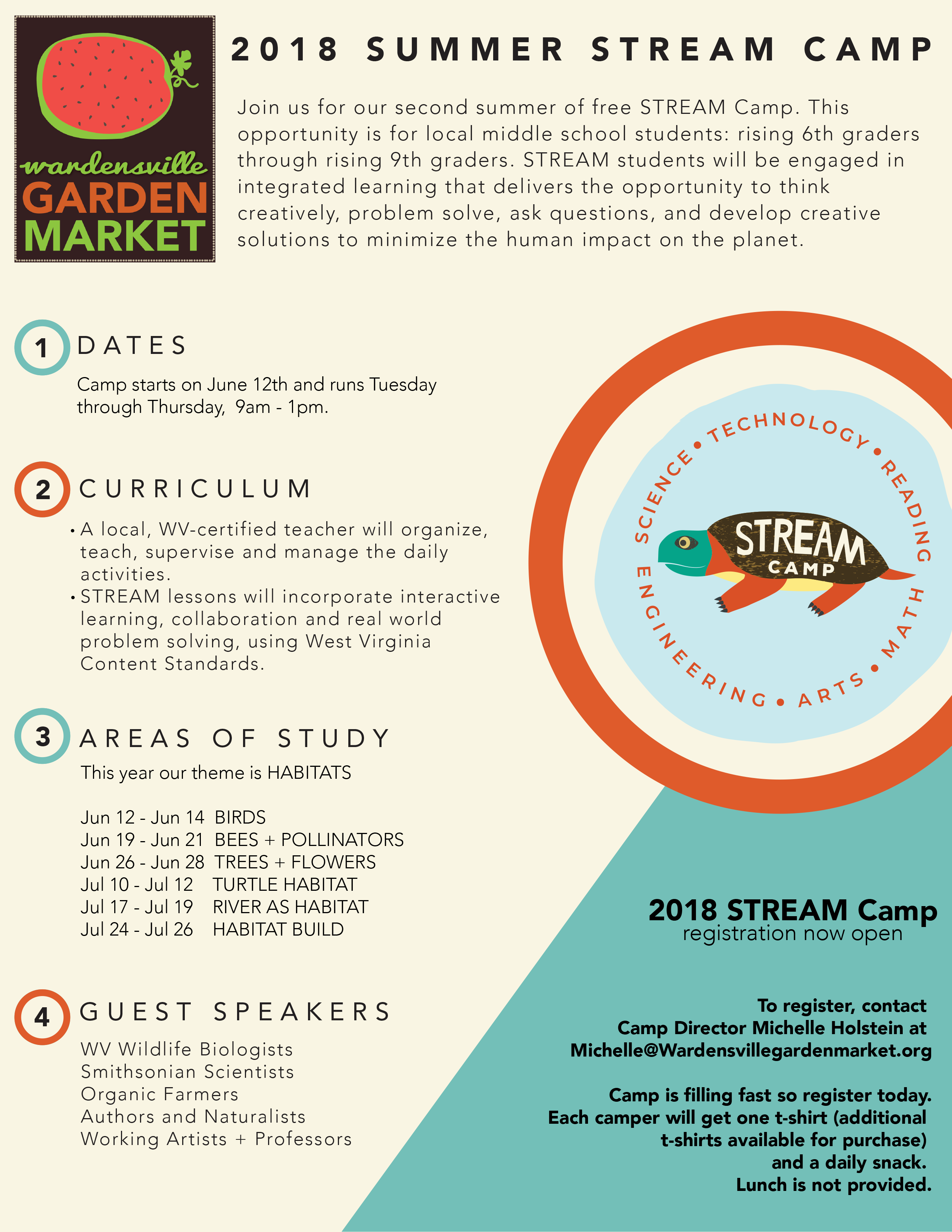 STREAM Camp Flyer