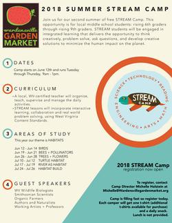 STREAM Camp Flyer