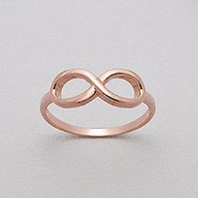 Rose Gold Infinity Ring
