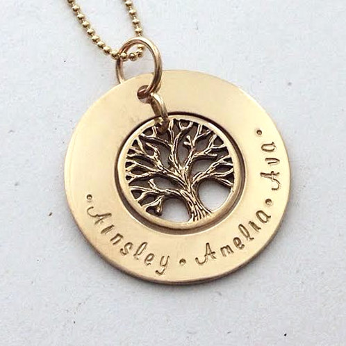Gold Family Tree (medium) - ON SALE