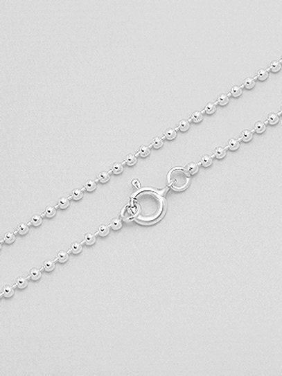 Sterling Silver Ball Chain 1mm