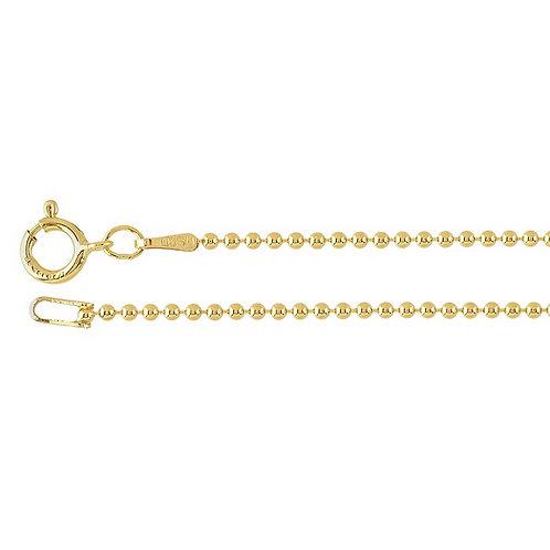 Gold Fill Ball Chain 1.5mm