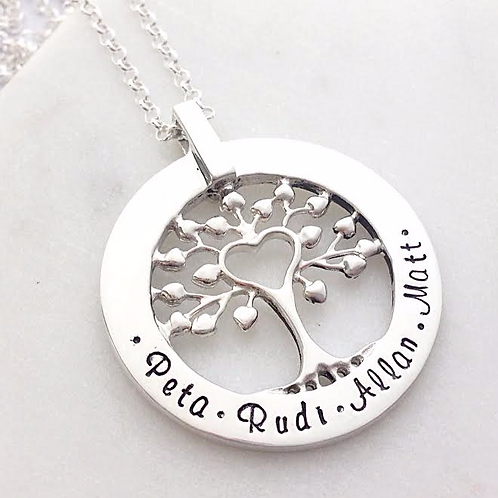 Tree of Love in Sterling Silver - ON SALE
