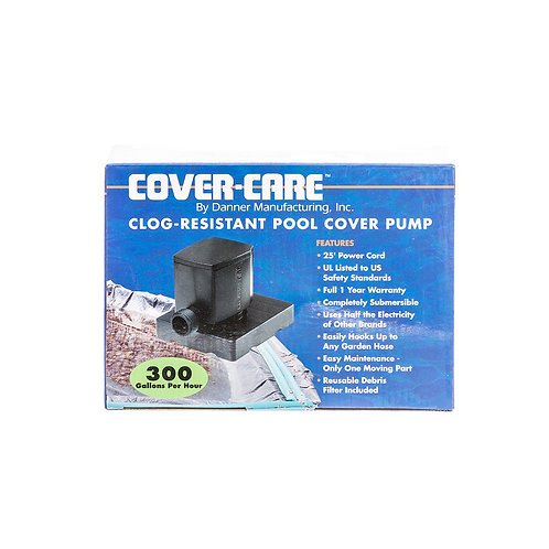 Cover Care Pool Cover Pump 300 GPH