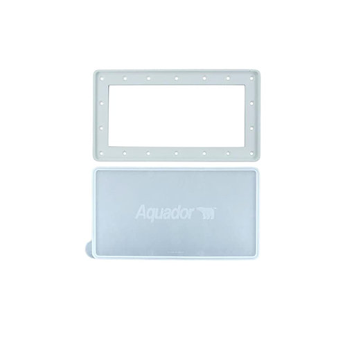 Aquador Widemouth Above Ground Pool Skimmer Cover Kit Model 1010