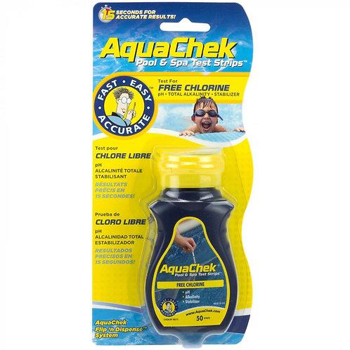 AquaChek Free Chlorine Test Strips