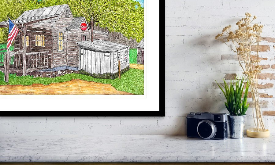 Original Art Printed on Archival Quality Paper