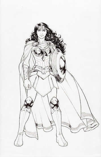 Wonder Woman UN Piece