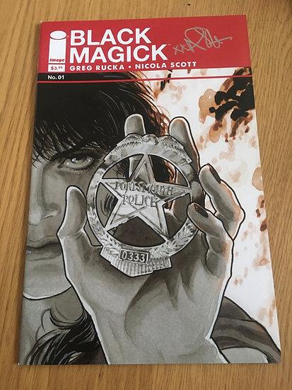 Black Magick Issue 1