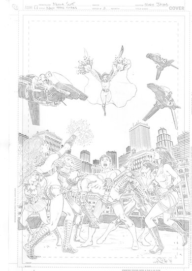 New Teen Titans Cover 2