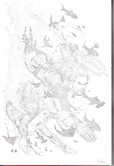 Aquaman Variant 43