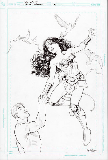 Wonder Woman Issue 10 Cover
