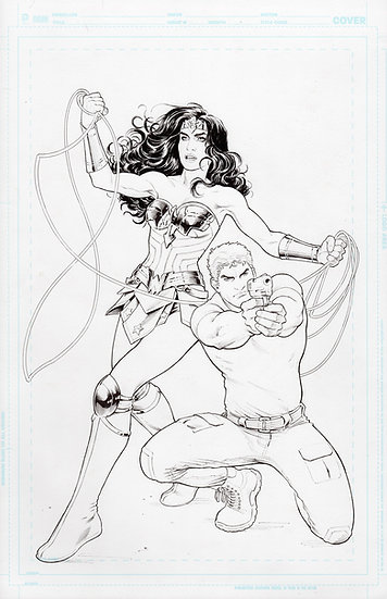 Wonder Woman Issue 14 Cover