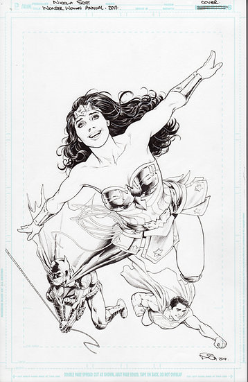 Wonder Woman Annual 2017 Cover