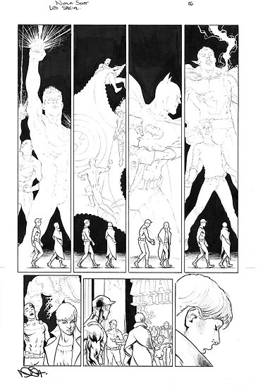 Legion of Super-Heroes Special Page 26