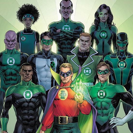 Green Lantern Class Line Up