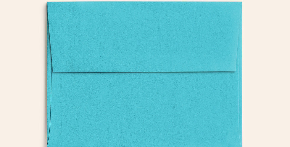 Colored Envelope - Turquoise