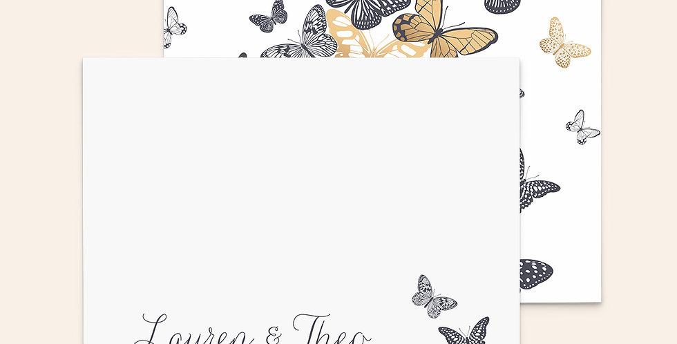 Gold Papillons
