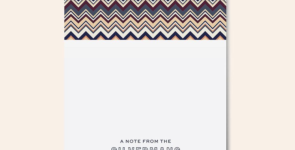Lamé Notepad