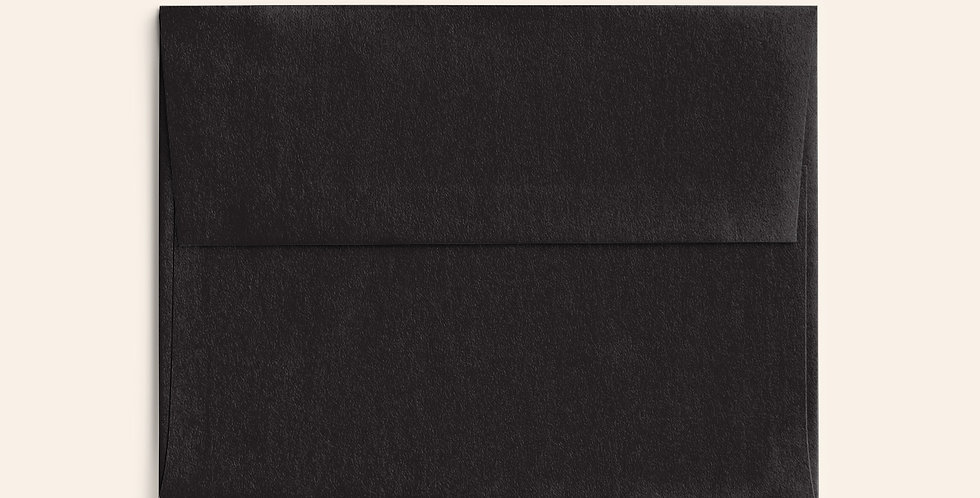 Colored Envelope - Black