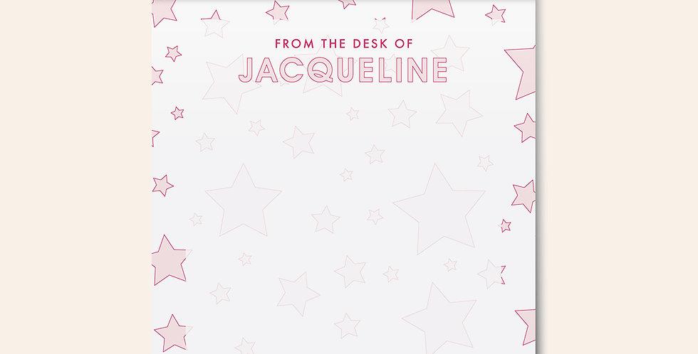 Starlight Notepad • Pink