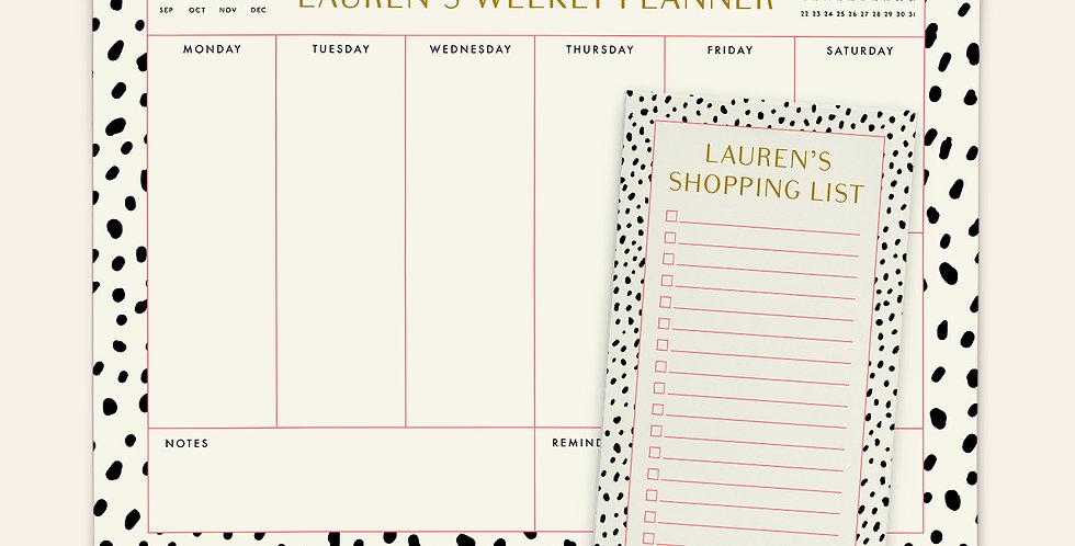 Mother's Day Notepad Bundle 1 • Dalmatian Set