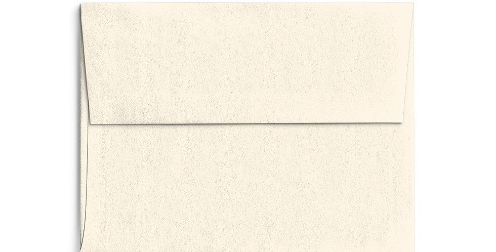 Colored Envelope - Cream
