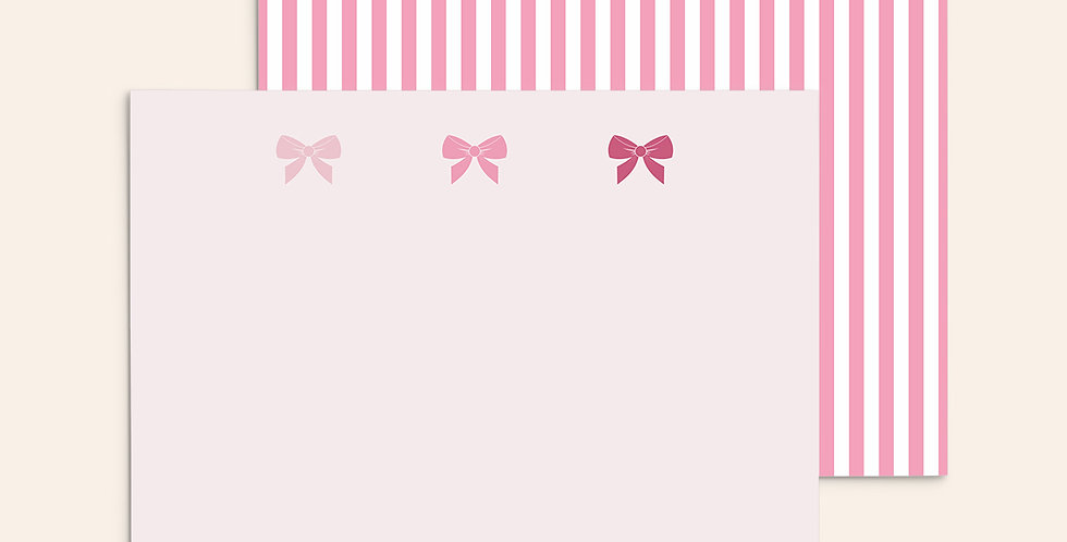 Ombre Bows ▪ Pink
