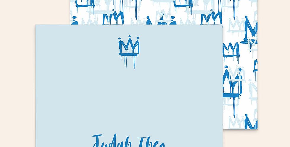 Graffiti Crowns ▪ Blue