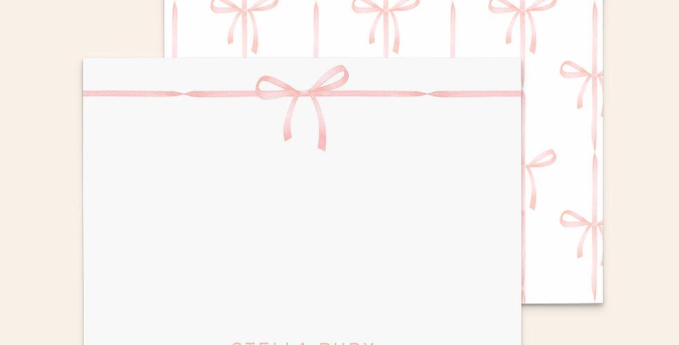 Watercolor Ribbon Bows