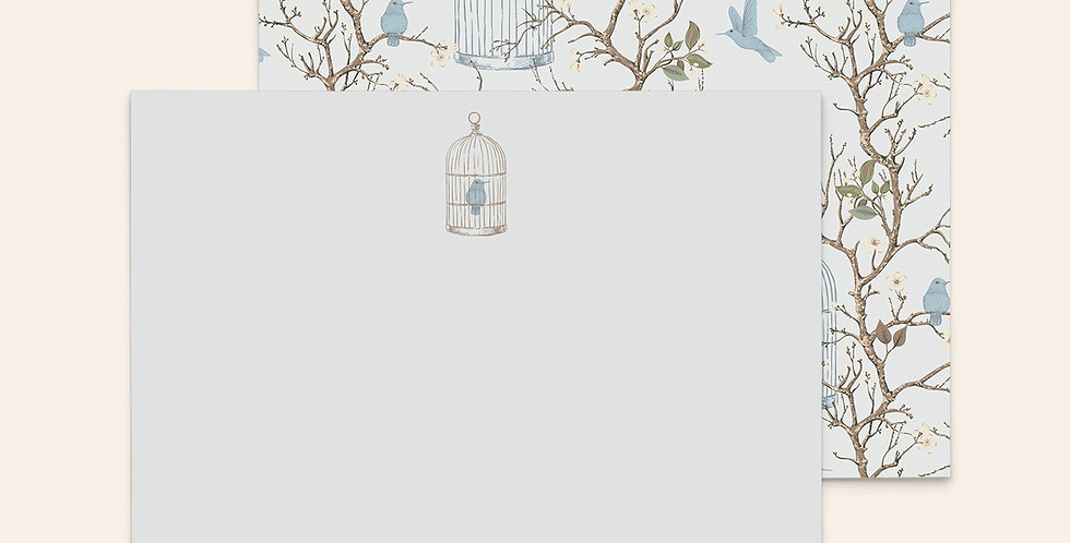 Baby Blue Bird Cages
