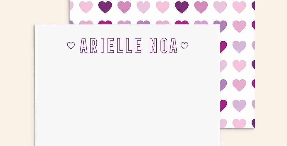 Lovely Hearts ▪ Purple