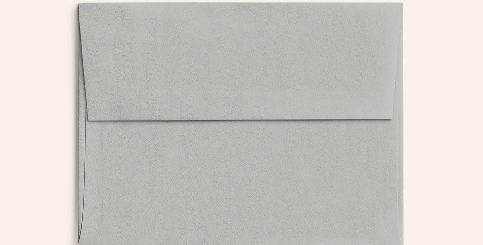 Colored Envelope - Real Grey