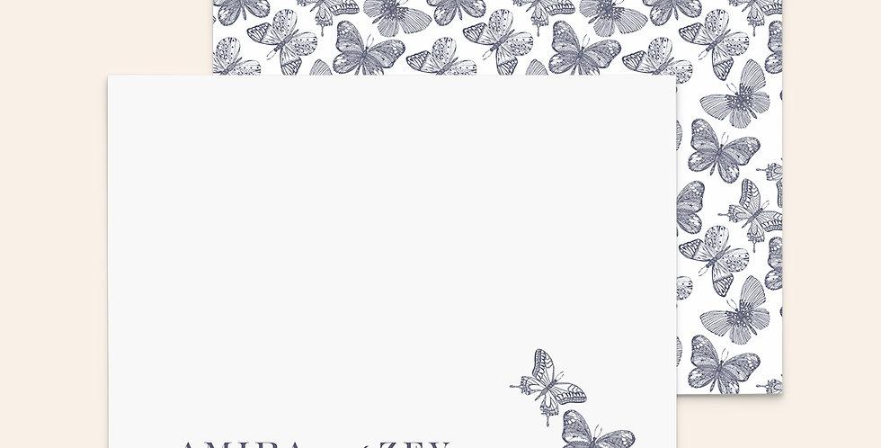 Classic Butterflies ▪ Dusty Purple
