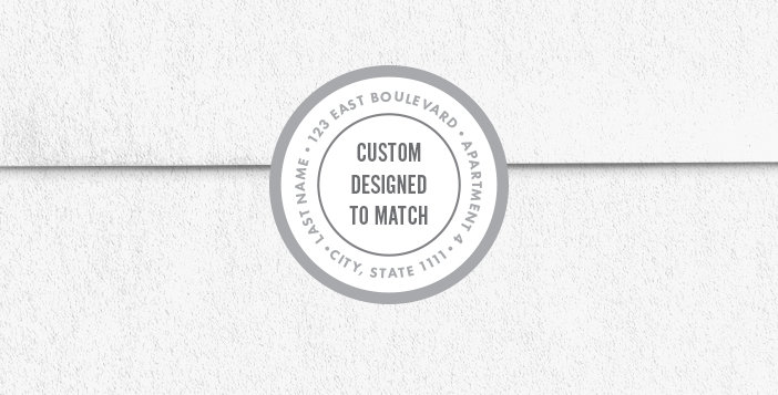 Custom Return Address Envelope Seals