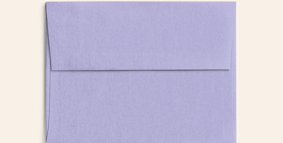 Colored Envelope -Lavender