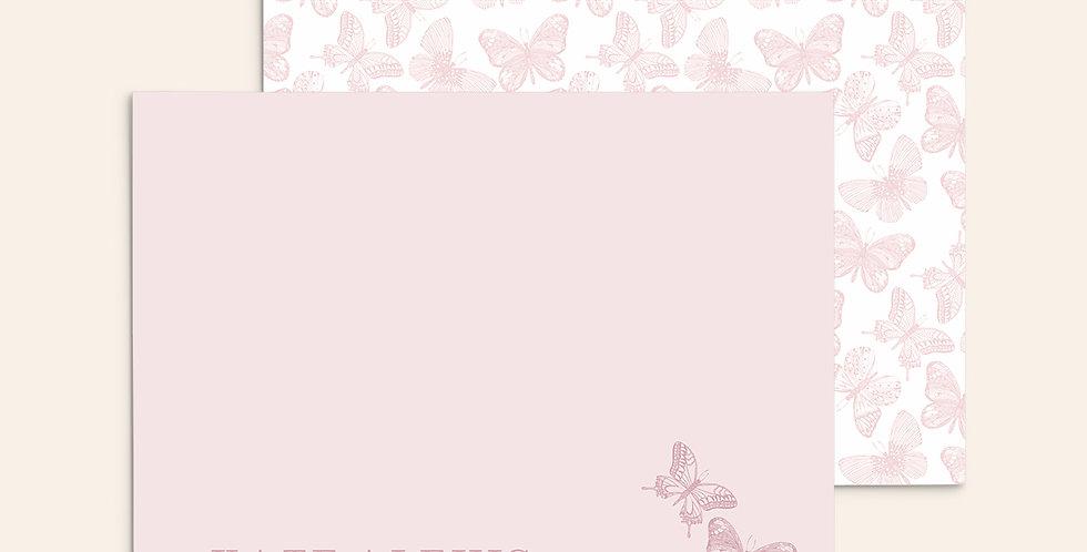 Classic Butterflies ▪ Pink
