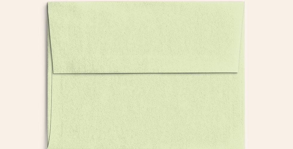 Colored Envelope - Pistachio