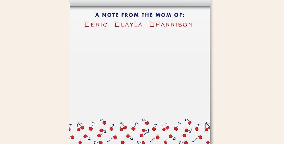 Mom of Notepad • Cherries