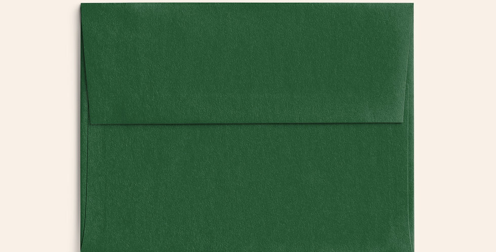 Colored Envelope - Forest Green