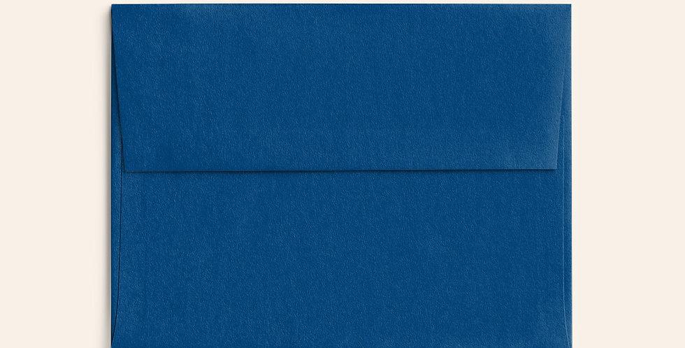 Colored Envelope - Nautical Blue