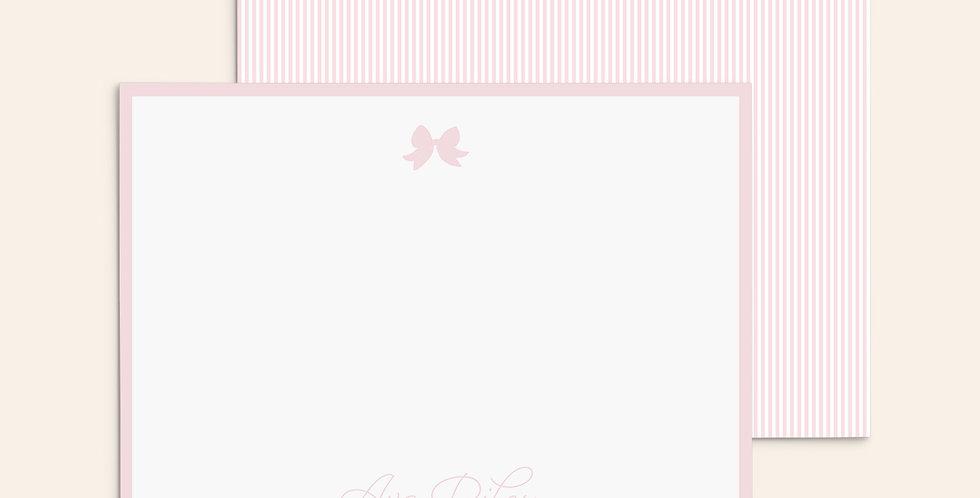 Seersucker Bows ▪ Pink